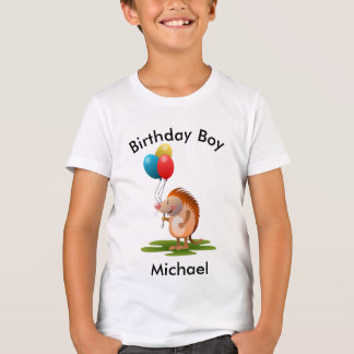 Hedgehog birthday boy T-Shirt