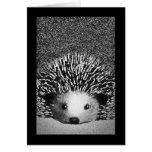 Hedgehog Blank Notecard Note Card