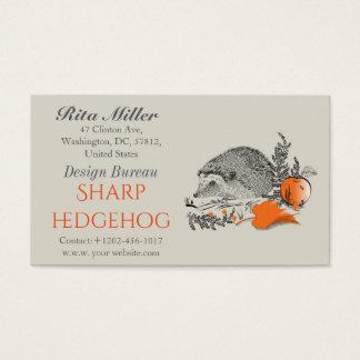 Hedgehog Business Card
