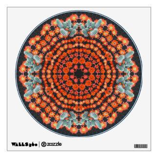 Hedgehog Cactus Mandala 2 Decal