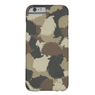 Hedgehog camouflage barely there iPhone 6 case