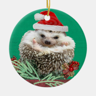 Hedgehog Christmas Ornament