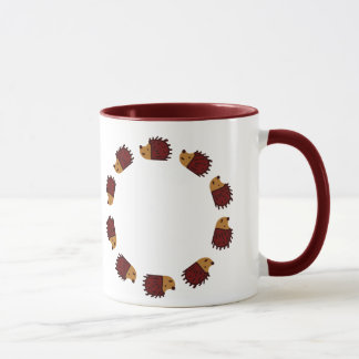 Hedgehog Crossing! Mug