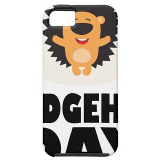 Hedgehog Day - Appreciation Day iPhone 5 Case