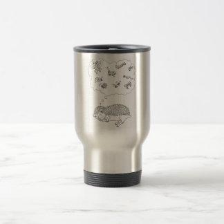 Hedgehog Dreams Travel Mug