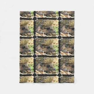 Hedgehog Fleece Blanket