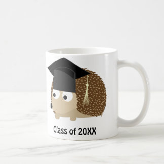 Hedgehog Graduate 20XX Classic White Coffee Mug