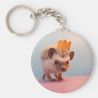 Hedgehog Happiness Keychain