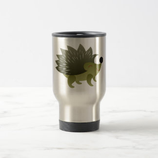 Hedgehog hegdehog travel mug