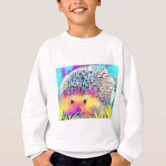 Hedgehog image sweatshirt