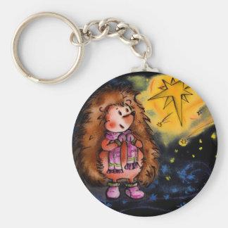 Hedgehog Keychain! Keychain
