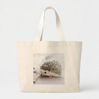 Hedgehog Large Tote Bag