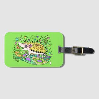 Hedgehog Love☆1 Bag Tag