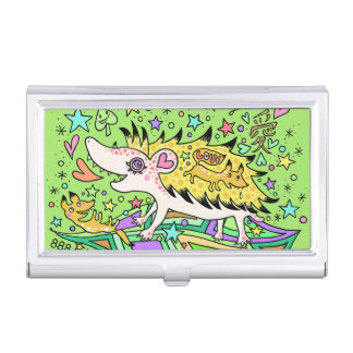 Hedgehog Love☆1 Business Card Holder