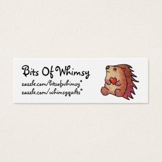 Hedgehog Love! Mini Business Card