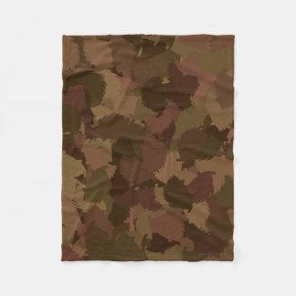 HEDGEHOG modern camouflage Fleece Blanket
