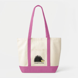 Hedgehog Mom Tote Bag