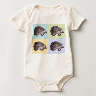 Hedgehog Parade  4 Hedgehogs Baby Outfit / Creeper