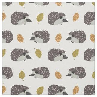 Hedgehog Pattern fabric