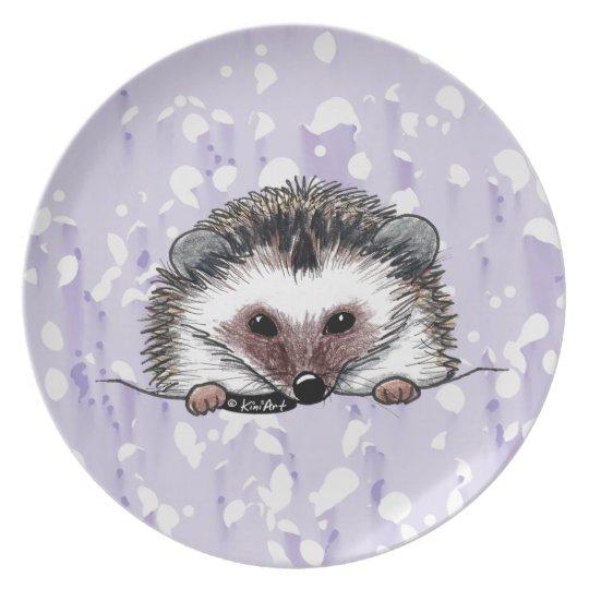 Hedgehog Plate