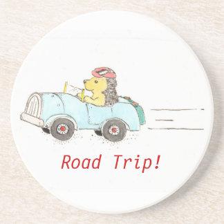 Hedgehog Road Trip Coaster