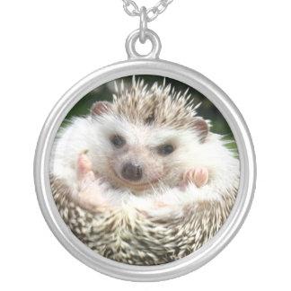 Hedgehog Smiling Necklace