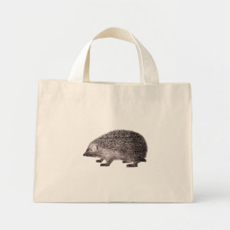 Hedgehog Tote Bag for Hedgehog Lovers
