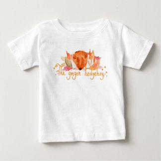 Hedgehog watercolor baby fine jersey T Shirt
