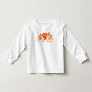Hedgehog watercolor toddler long sleeve t shirt