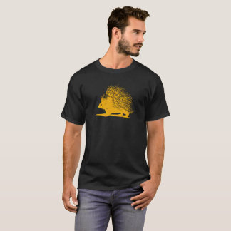 Hedgehog Yellow Funny T-Shirt