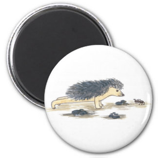 Hedgehog Yoga, Chaturanga Magnet