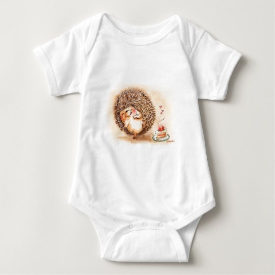 Hedgehog YUM! Baby Bodysuit