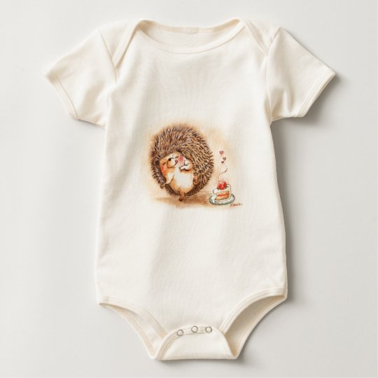 Hedgehog YUM! Baby Bodysuit