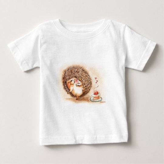 Hedgehog YUM! Baby T-Shirt