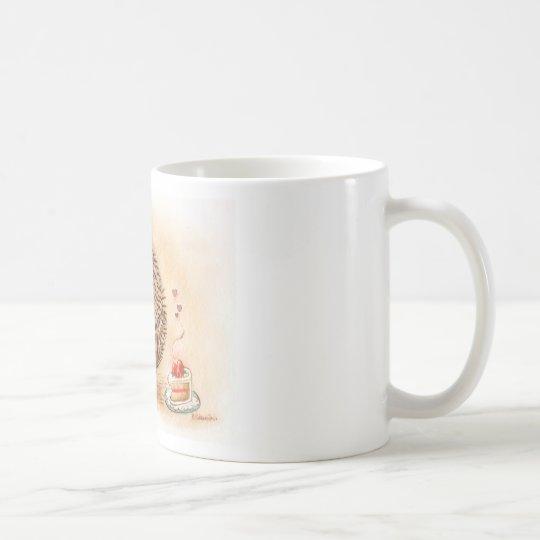 Hedgehog YUM! Coffee Mug