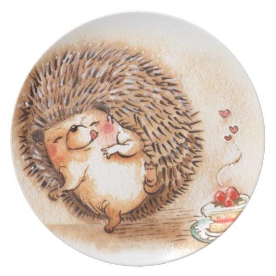 Hedgehog YUM! Dinner Plates