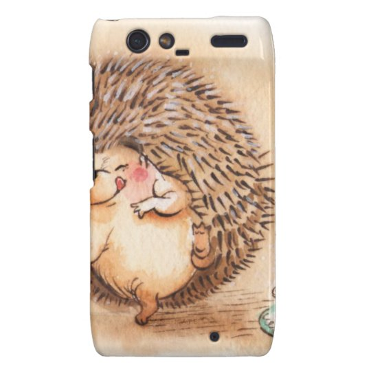 Hedgehog YUM! Droid RAZR Cover