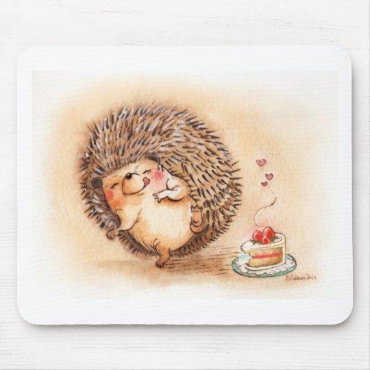 Hedgehog YUM! Mouse Pad