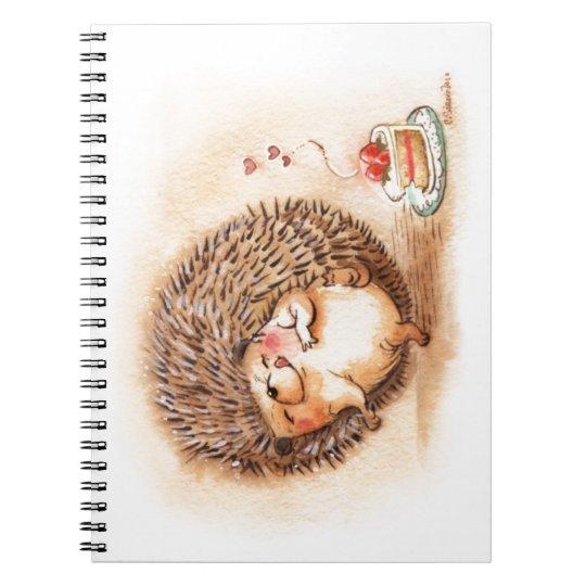 Hedgehog YUM! Notebooks