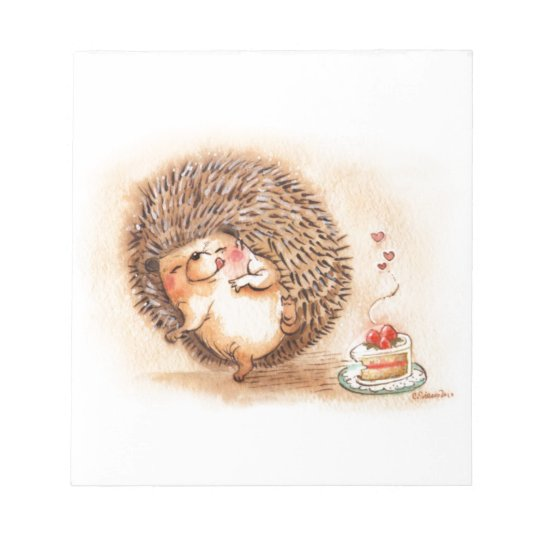 Hedgehog YUM! Notepad