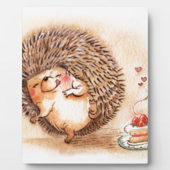 Hedgehog YUM! Photo Plaque