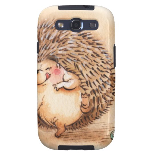 Hedgehog YUM! Samsung Galaxy S3 Covers