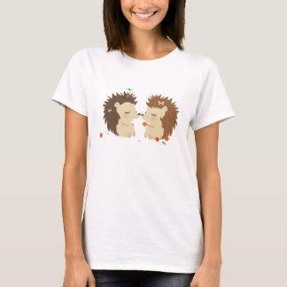 Hedgehogs Love WomanTshirt T-Shirt