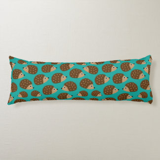 Hedgehogs seamless pattern (ver.1) body pillow