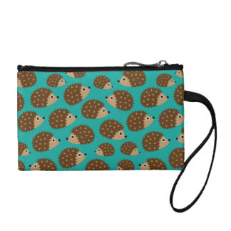 Hedgehogs seamless pattern (ver.1) coin purse