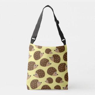Hedgehogs seamless pattern (ver.2) crossbody bag