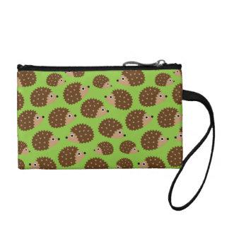 Hedgehogs seamless pattern (ver.3) coin wallet
