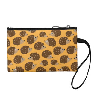 Hedgehogs seamless pattern (ver.4) coin purses