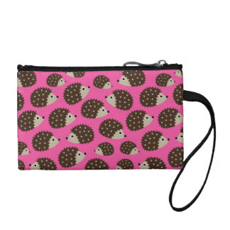Hedgehogs seamless pattern (ver.5) coin purses
