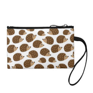 Hedgehogs seamless pattern (ver.6) coin purse
